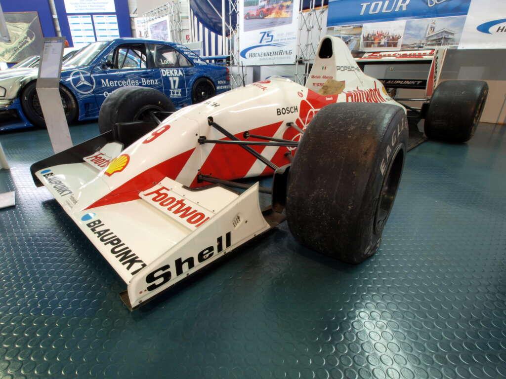 Die Geschichte des Porsche Carrera GT startete 1991 in der Formel 1 bei Footwork Arrows