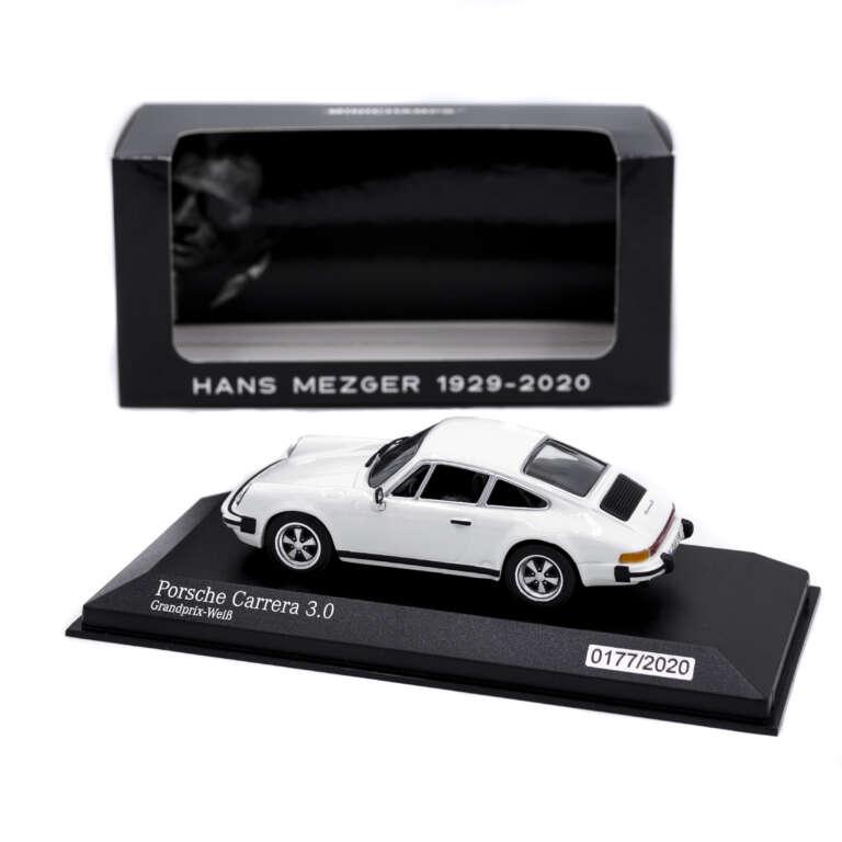 Model Car 911 Carrera 3.0 Hans Mezger - Limited Edition