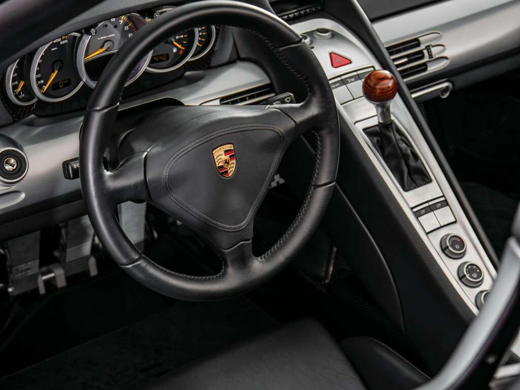 Porsche Carrera GT Lenkrad