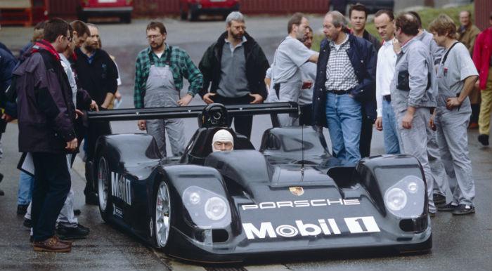 Die Geschichte des Porsche Carrera GT wäre nie geschrieben worden, wenn der LMP2000 zum Einsatz gekommen wäre