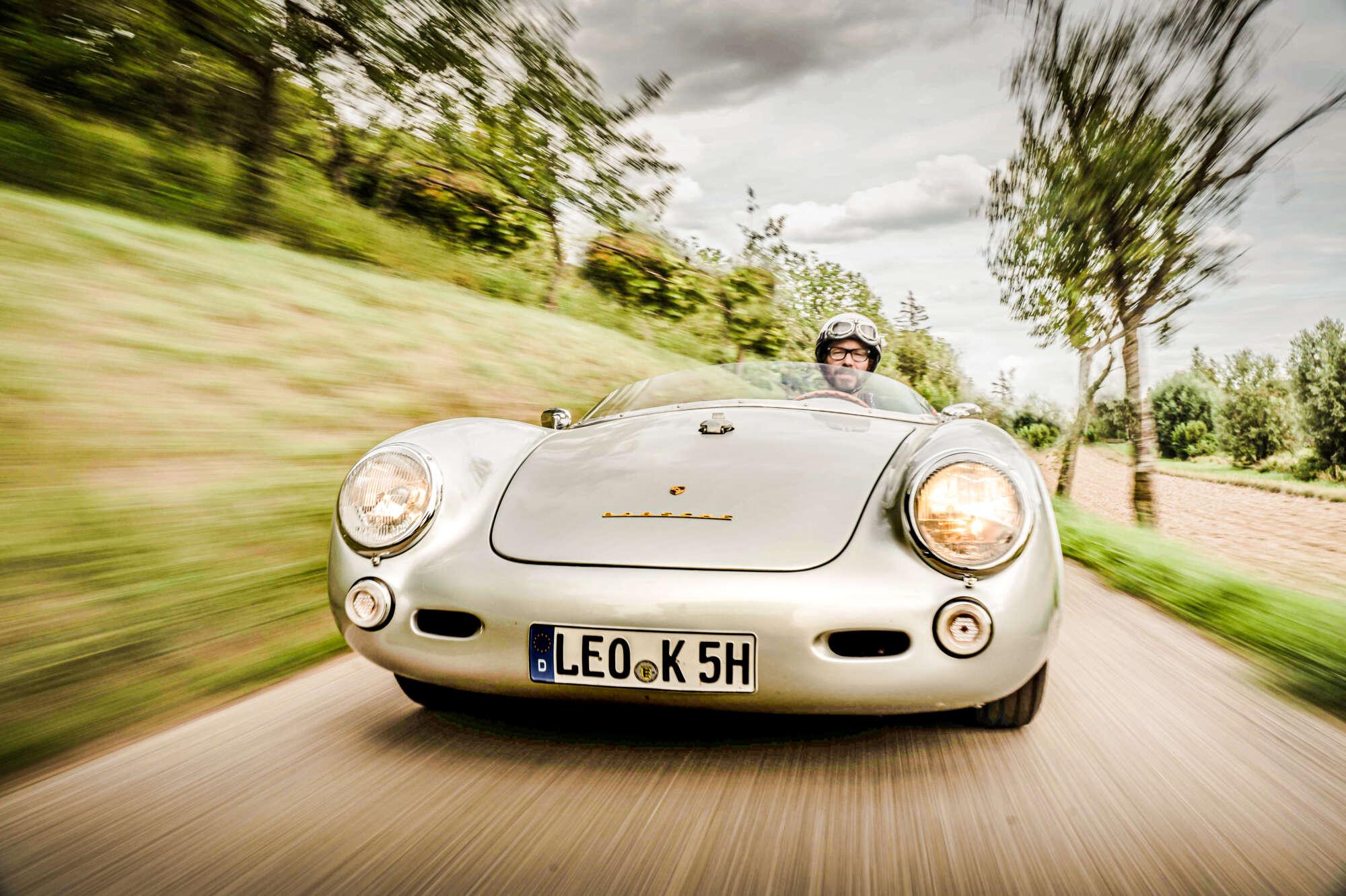 Declaration of love for a Porsche Tribute Car