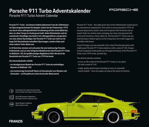 Porsche 911 Turbo Beschreibung