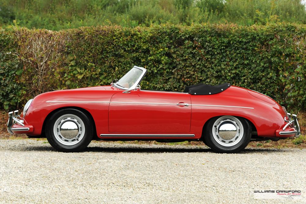 Porsche 356 A 1600 Convertible D